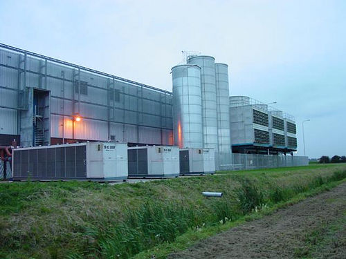 Google Data Centre in the Netherlands