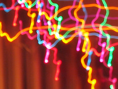 Dancing Lights, by lysergxi on Flickr